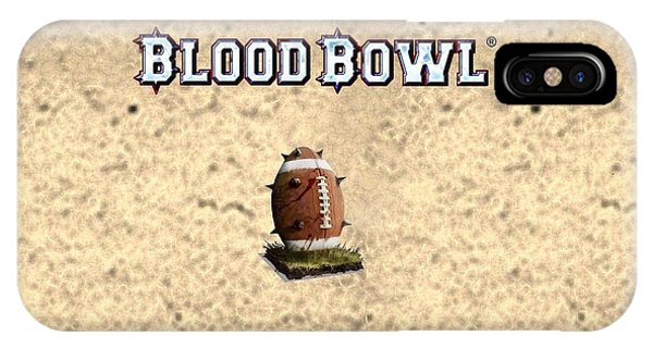 Blood Bowl IPhone Case
