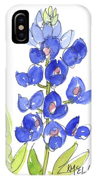 Bluebonnet IPhone Case