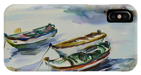 3 Boats I IPhone Case