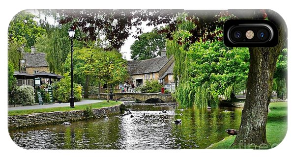 Bourton-on-the-water IPhone Case