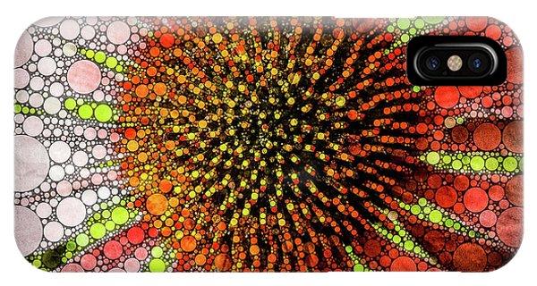 Echinacea Mosaic One IPhone Case
