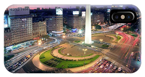 Buenos Aires Obelisk IPhone Case