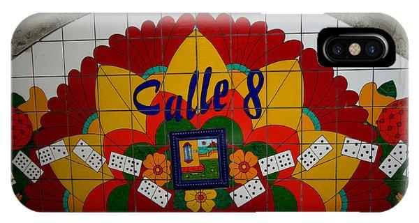 Calle Ocho Cuban Festival Miami IPhone Case