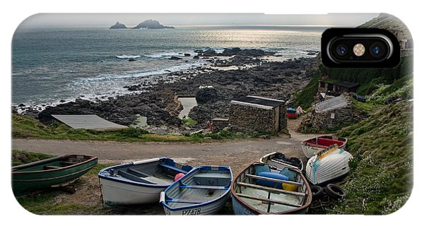Cape Cornwall IPhone Case
