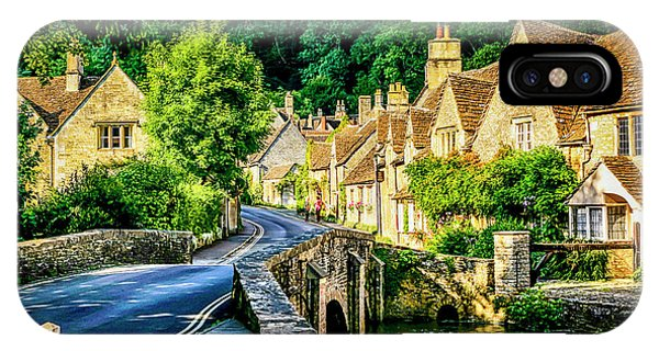 Castle Combe Village, Uk IPhone Case