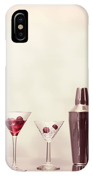 Shaker iPhone Case - Cocktails At The Bar by Amanda Elwell