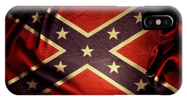 Confederate Flag 6 IPhone Case