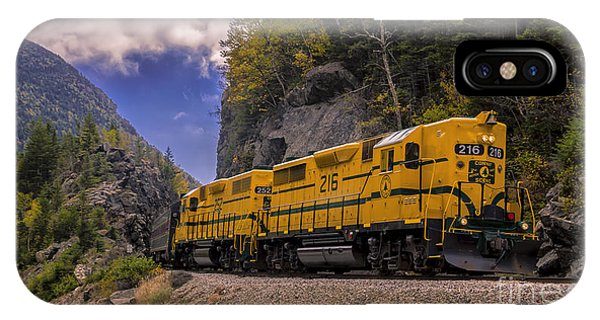 Conway Scenic Railroad Notch Train. IPhone Case