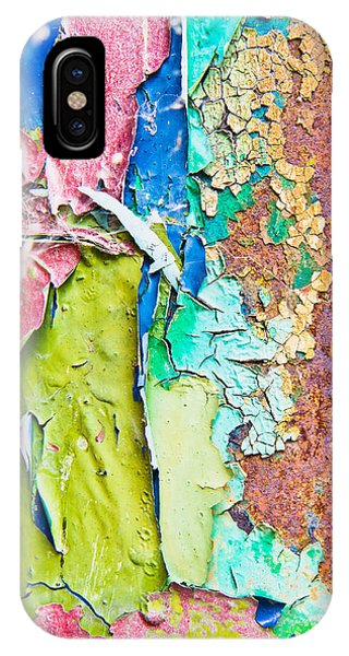 Oxidized iPhone Case - Cracked Paint by Tom Gowanlock