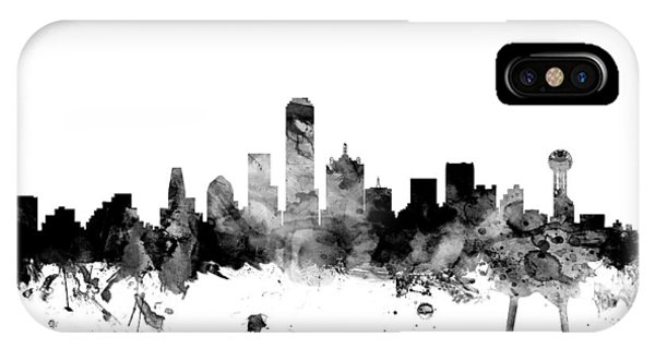 Dallas Texas Skyline IPhone Case