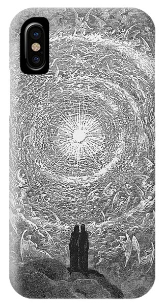 IPhone Case featuring the photograph Dante Paradise by Gustave Dore