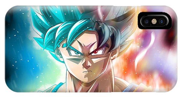 Shenron iPhone Case - Dragon Ball Super - Goku by Babbal Kumar