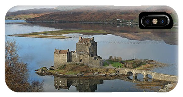 Eilean Donan Castle - Panorama IPhone Case