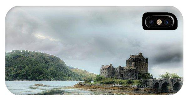 Tidal iPhone Case - Eilean Donan Castle - Scotland by Joana Kruse