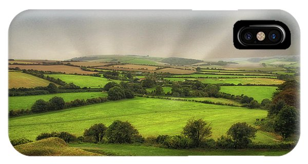 English Countryside iPhone Case - English Countryside by Martin Newman