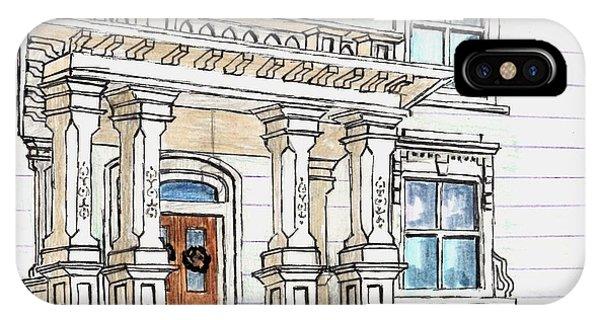 Essex Street Front Door IPhone Case