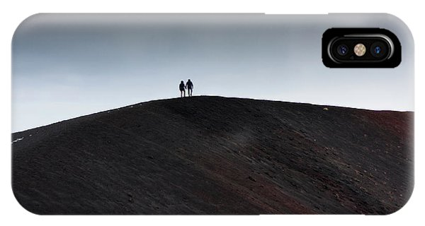 Etna, The Volcano IPhone Case