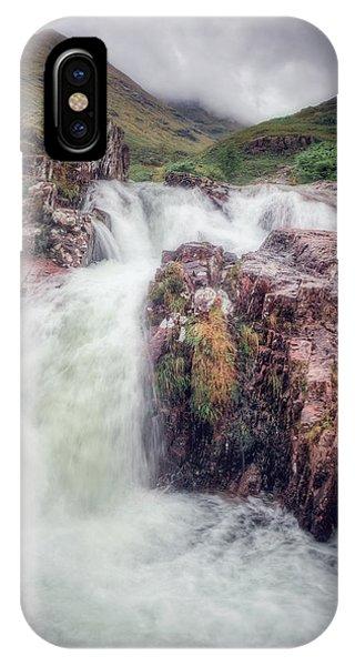 Falls Of Glencoe IPhone Case