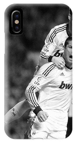 Cristiano Ronaldo iPhone Case - Cristiano Ronaldo 14 by Rafa Rivas