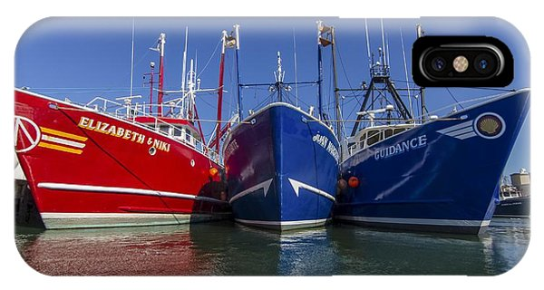 3 Fishing Boats IPhone Case