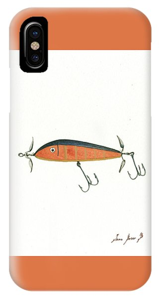 Lure iPhone Case - Fishing Lure  by Juan Bosco