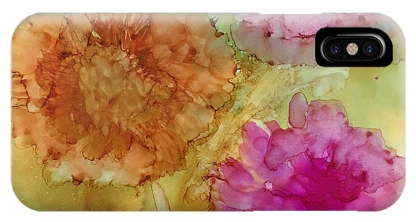 3 Flowers IPhone Case