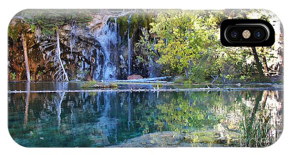 IPhone Case featuring the photograph Hanging Lake by Kate Avery