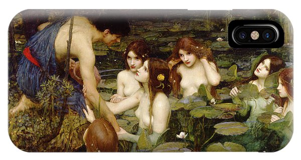 Hylas And The Nymphs IPhone Case