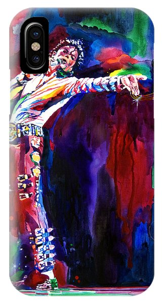 Michael Jackson iPhone Case - Jackson Magic by David Lloyd Glover