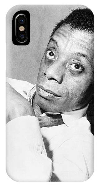 20th Century Man iPhone Case - James Baldwin (1924-1987) by Granger