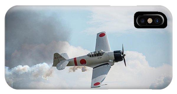 Japanese Zero- Mitsubishi A6m IPhone Case