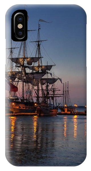Lafayette's Hermione Voyage 2015 IPhone Case