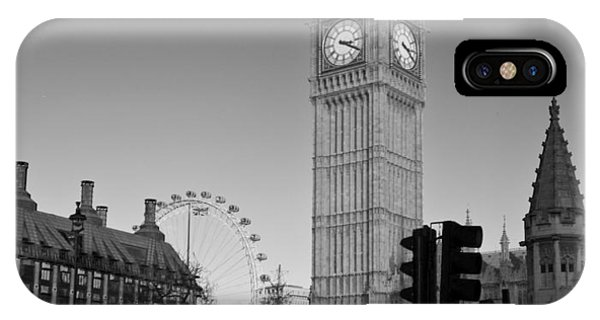Skyline iPhone Case - London  Skyline Big Ben by David French