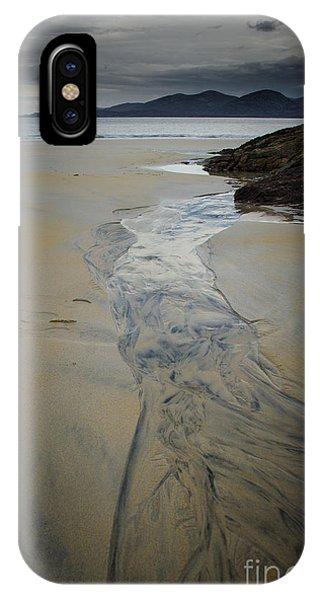 Scotland iPhone Case - Luskentyre, Isle Of Harris by Smart Aviation