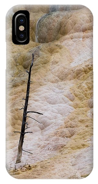 Mammoth Hot Spring Terraces IPhone Case