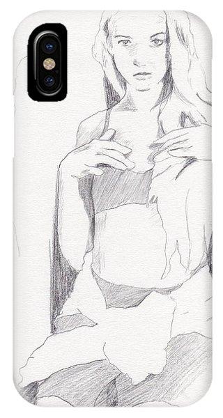 Missy - Sketch IPhone Case