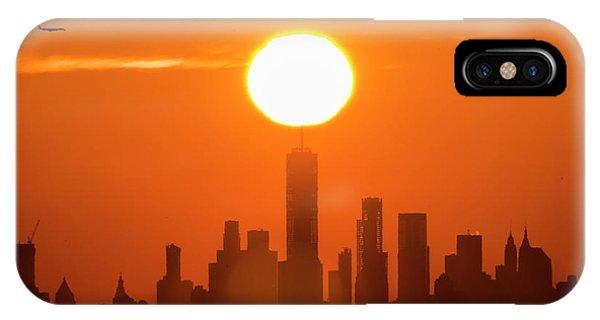 New York City Sunrise IPhone Case
