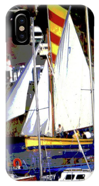 Oyster Boats IPhone Case