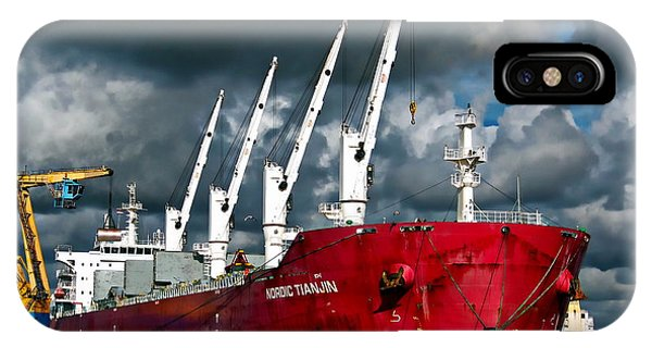 Port Of Amsterdam IPhone Case