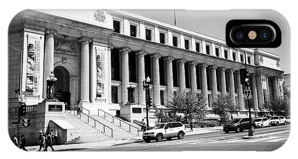 Smithsonian Museum iPhone Case - Postal Square Building Washington Dc Usa by Joe Fox