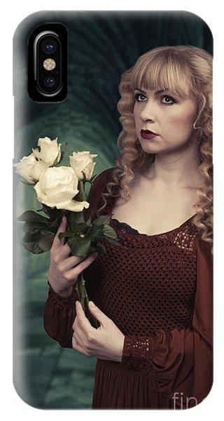 Pre-modern iPhone Case - Pre-raphaelite Woman by Amanda Elwell