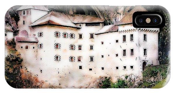 Predjama Castle, Predjama Slovenia IPhone Case