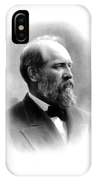 United States Presidents iPhone Case - President James Garfield by War Is Hell Store