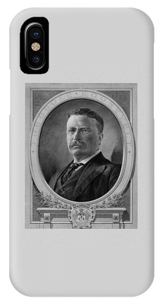 Cavalry iPhone Case - President Theodore Roosevelt by War Is Hell Store