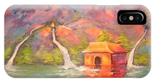 3 Rivers Temple IPhone Case