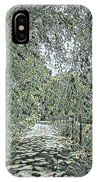 Riverside Park IPhone Case