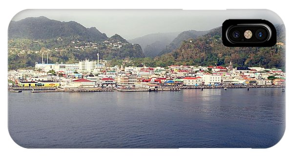 Roseau Dominica IPhone Case
