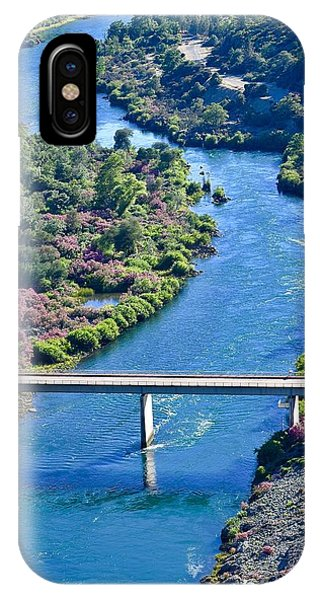 Shasta Dam Spillway IPhone Case