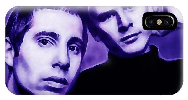 Simon And Garfunkel iPhone Case - Simon And Garfunkel by Marvin Blaine