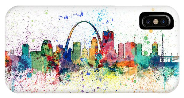St Louis Missouri Skyline IPhone Case
